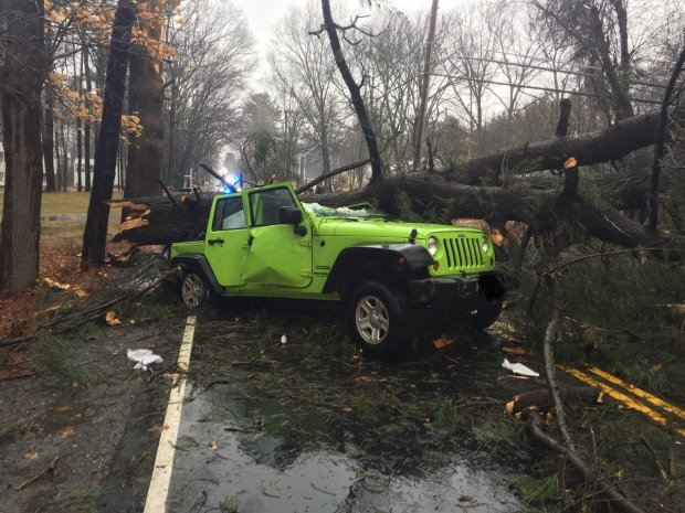 Photos: Aftermath of  the Nor'easter That Hammered New England