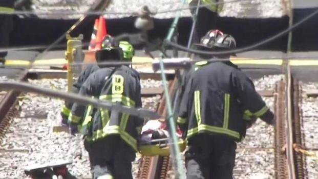 [NECN] 11 Hurt in Green Line Derailment