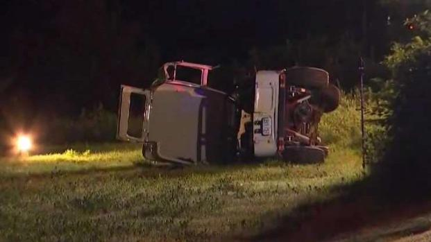[NECN] 3 Ejected in Serious Crash in Lancaster