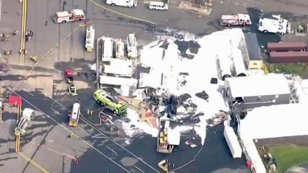 [NECN] Authorities Investigate Deadly Vintage Plane Crash