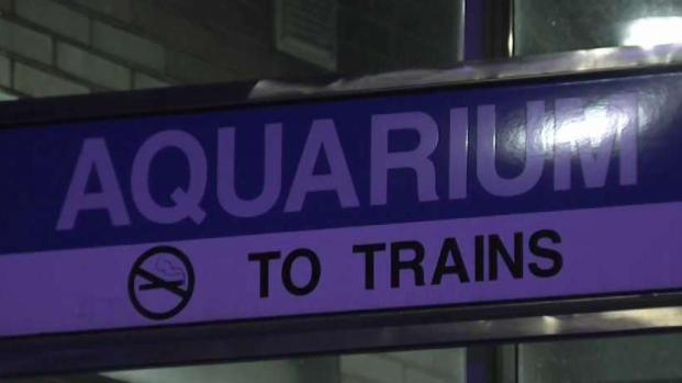 [NECN] Blue Line Trains Bypassing Aquarium After Possible Shooting