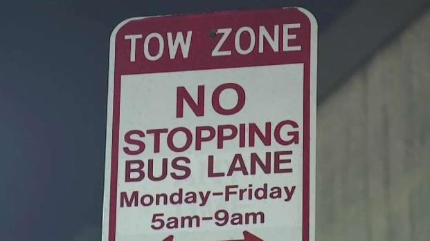 [NECN] Bus Lane in Roslindale Designated for MBTA and School Buses