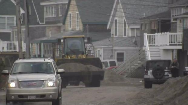 [NECN] Cleaning Up in Scituate Before Next Storm