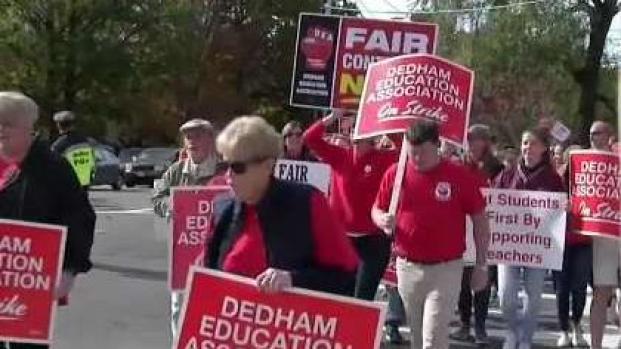 [NECN] Dedham Schools Reopen After Teachers Strike
