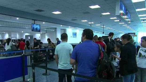 [NECN] Dorian Causes Travel Concerns Up and Down East Coast