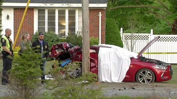 [NECN] Driver Arrested After Deadly Easton Crash