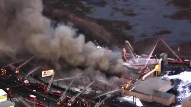 [NECN] East Boston Building to Be Demolished After Fire