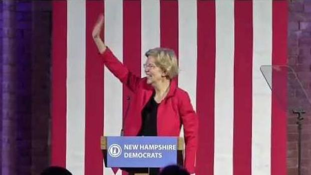 [NECN] Elizabeth Warren Headlines Annual Democratic Dinner