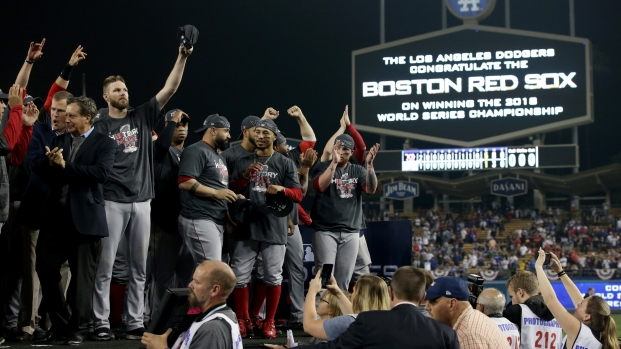 How Did the Red Sox Celebrate Their World Series Victory?