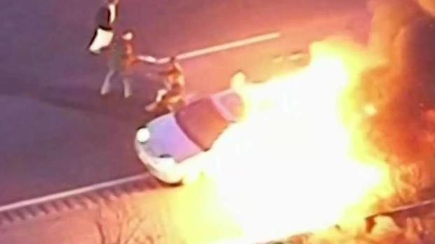 [NECN] Good Samaritan Speaks After Saving 4 in Fiery Crash
