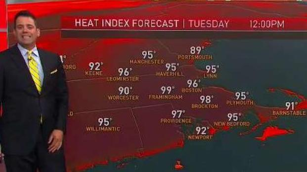 [NECN] Hot and Sticky Day Thanks to Humidity