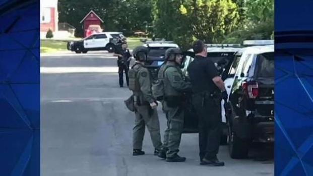 [NECN] Man Arrested After Methuen Standoff