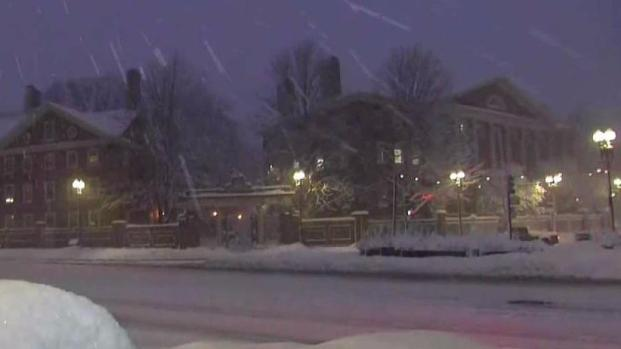 [NECN] Mass. Cities Left With Loads of Snow