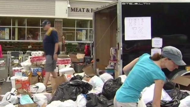 [NECN] Massachusetts Pitches in for Harvey Relief