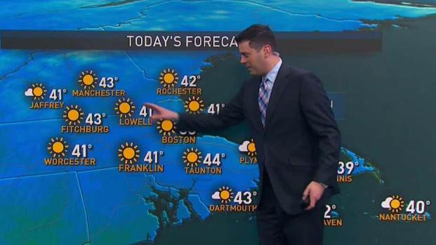 [NECN] Sunny, Coolest at the Coast