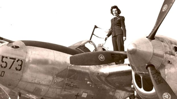 [NATL] WWII Pilot, Dorothy Olsen, Celebrates 99th Birthday (2015)