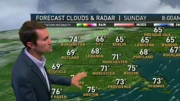 [NECN] Humidity, Heat Increase Sunday With Storms Possible