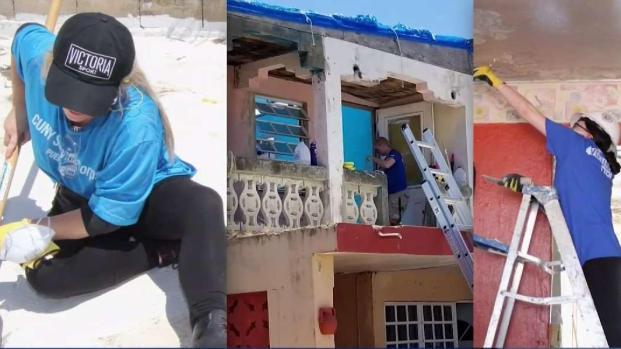 NY Students Help Build Homes in Puerto Rico