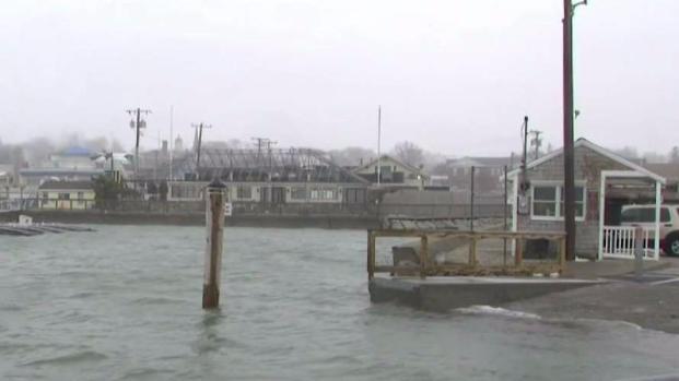 [NECN] Nor'easter Concerns Again Along South Shore