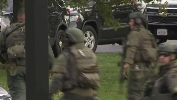 [NECN] Residents Evacuated After Gunfire at Apartment Complex