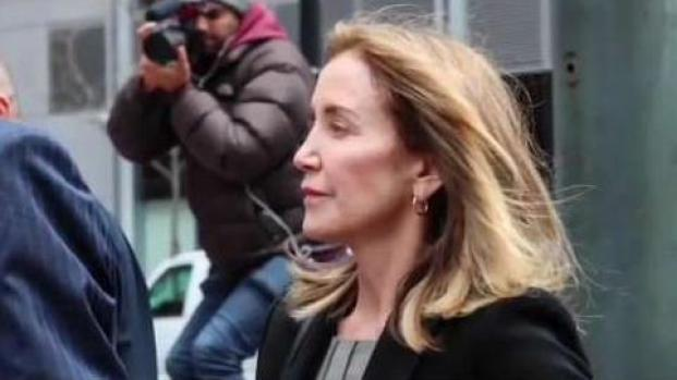 [NECN] Sentencing for Felicity Huffman in Cheating Scandal
