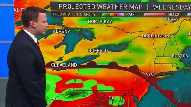 [NECN] Showers and Storms Follow String of Sunny Days