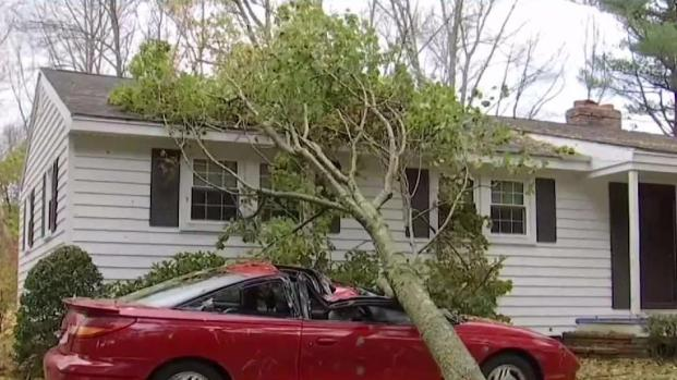 [NECN] Strong Winds Continue to Hit Merrimack Valley