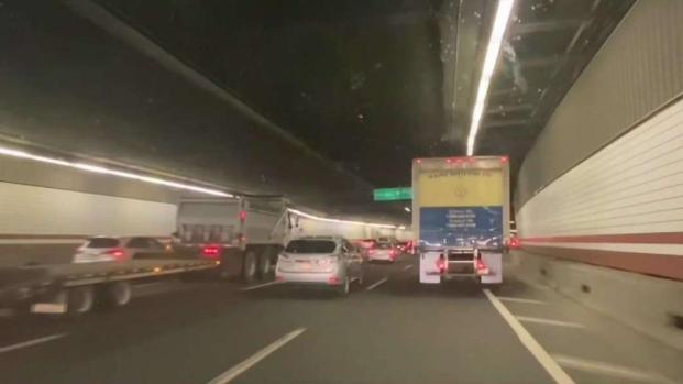 [NECN] Woman Exiting Rideshare Vehicle in Boston Highway Tunnel Struck, Seriously Injured