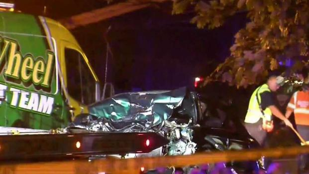 [NECN] Woman Killed in Crash With Police Cruiser in Somerset