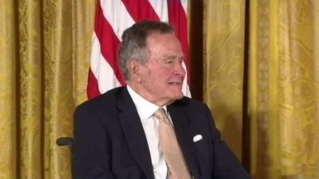 [NATL-DFW] Former President George H.W. Bush Hospitalized