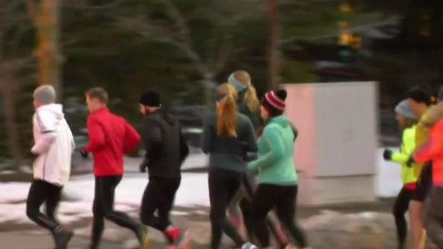[NECN] Training for the Boston Marathon During a Brutal Winter