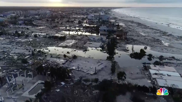 [NATL] Footage Shows Mexico Beach Ripped Apart by Hurricane Michael