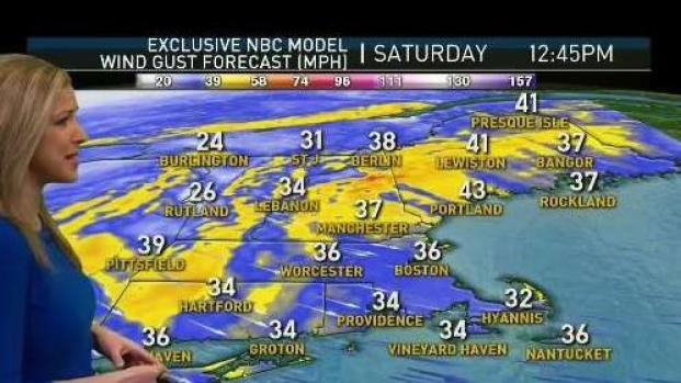 [NECN] Snow Departs New England Leaving Sun and Strong Winds