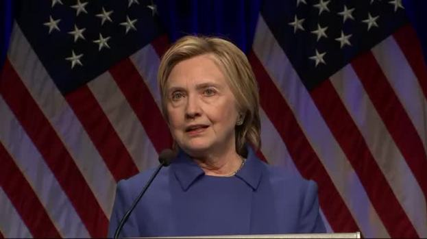 Clinton Reflects on Defeat: 'Never, Ever Give Up'