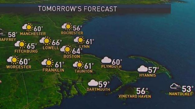 Forecast: Showers, Record Warmth Possible Tuesday