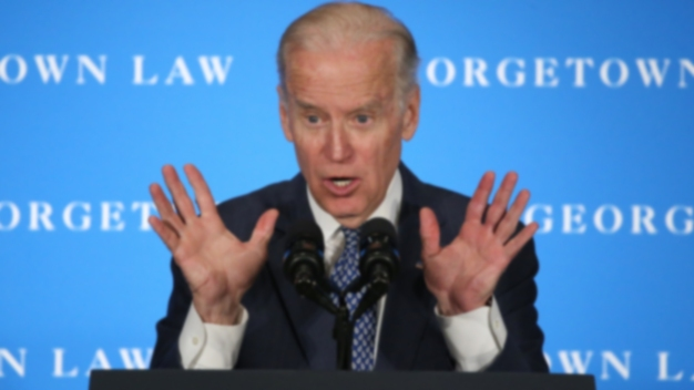 Women Divided on Defending Biden's Style as Just 'Human Touch'