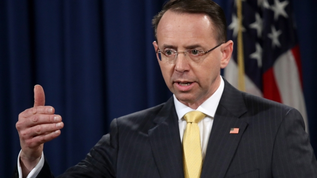 Rosenstein Details DOJ Efforts to Fight Election Meddling