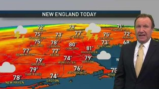 Weather Forecast: Temps in 70s on Muggy Wednesday