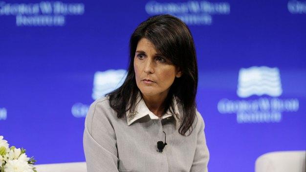 Trump Accusers 'Should Be Heard': Ambassador Nikki Haley