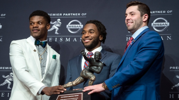 Walk-on to Heisman: Oklahoma's Mayfield Wins in Landslide