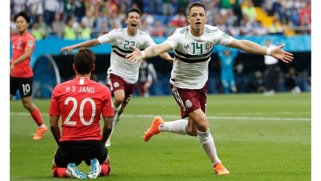 World Cup: Mexico Beats S. Korea, Germany Takes on Sweden