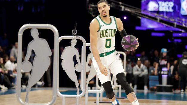 Celtics' Jayson Tatum Wins All-Star Skills Competition