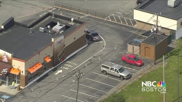 Dunkin' Donuts Customer Punches Manager, Shoots Out Window