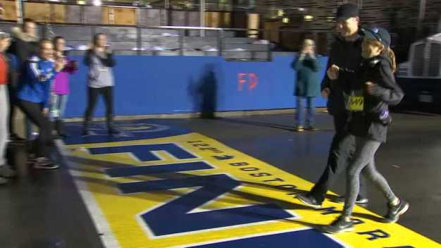 Determined Cancer Survivor Completes Boston Marathon