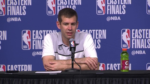 Brad Stevens: 'We Still Have to Beat Cleveland 1 More Time'