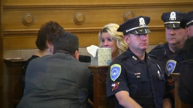 Widow of Slain Officer Confronts Accused Killer