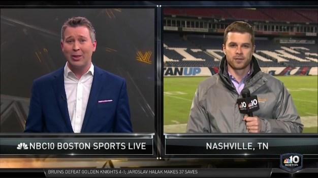 NBC10 Boston Sports Live Breaks Down the Patriots Loss to Titans