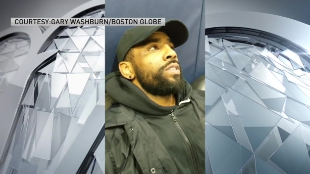 Irving Reacts to Questions About Video of Him and Durant