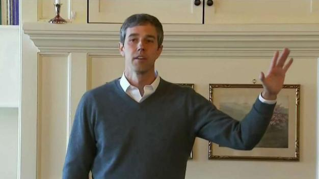 Beto O'Rourke Continues Tour of NH