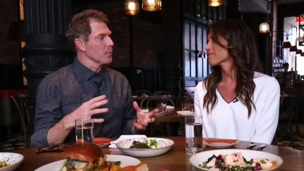 Chef Bobby Flay Dishes on New Restaurant
